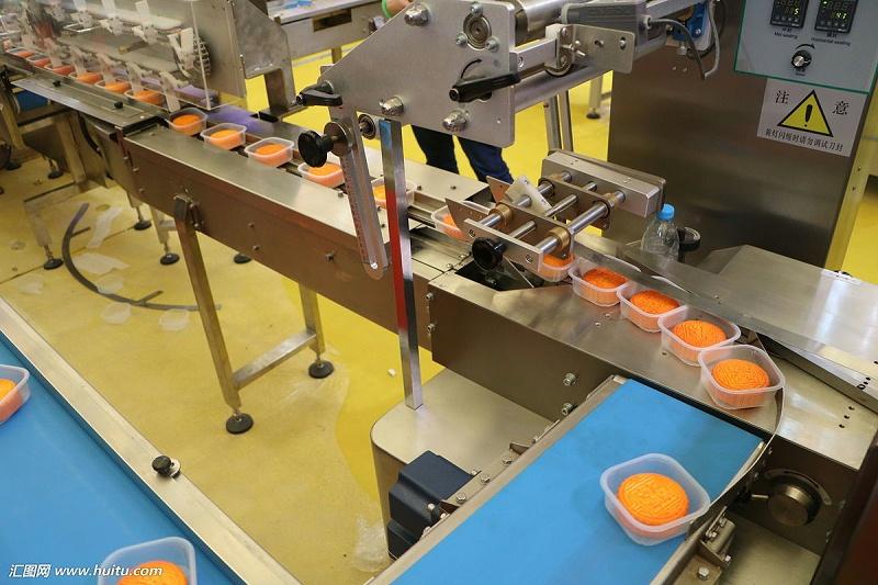 月饼生产流水线